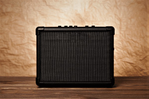 Photo shows readers a guitar amp