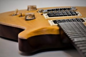 Photo shows guitar pickups for readers