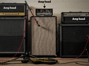 Photo shows readers what guitar amp heads look like