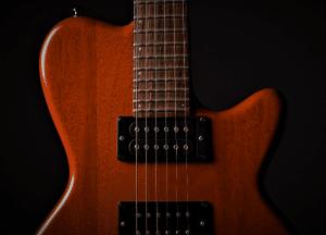 Photo shows reader guitar pickups