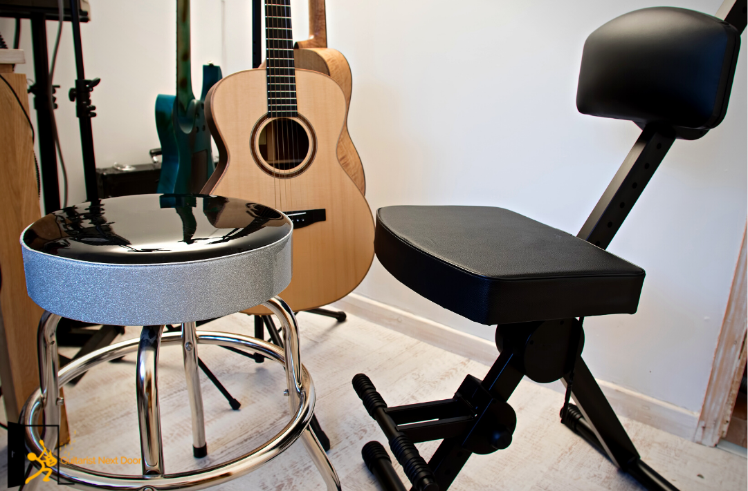 5 Best Guitar Stools with a Footrest in 2020 – Buyer's Guide