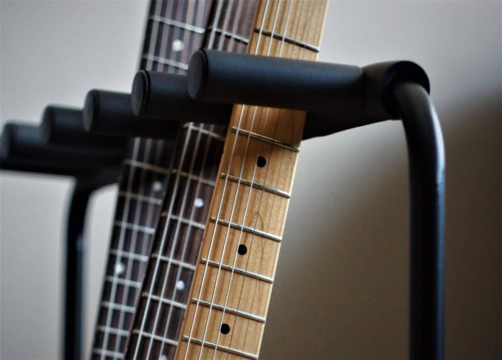 Photo shows reader an multi-guitar stand