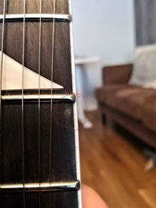 Jackson js22 dinky minor flaw in finish