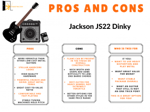 jackson js22 dinky review pros and cons displayed for readers