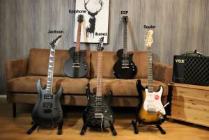 photo presents 5 Best Electric Guitar Under $200