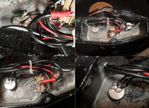 photo displays ESP LTD EC-10 electronics