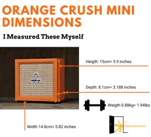 graph reveals Orange Crush Mini Dimensions