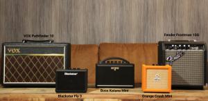photo displays Best Guitar Amplifiers Under $100
