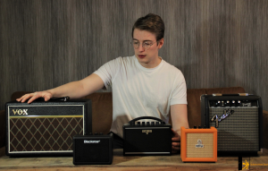 photo reveals 5 best electric guitar amps under $100 featured on this article