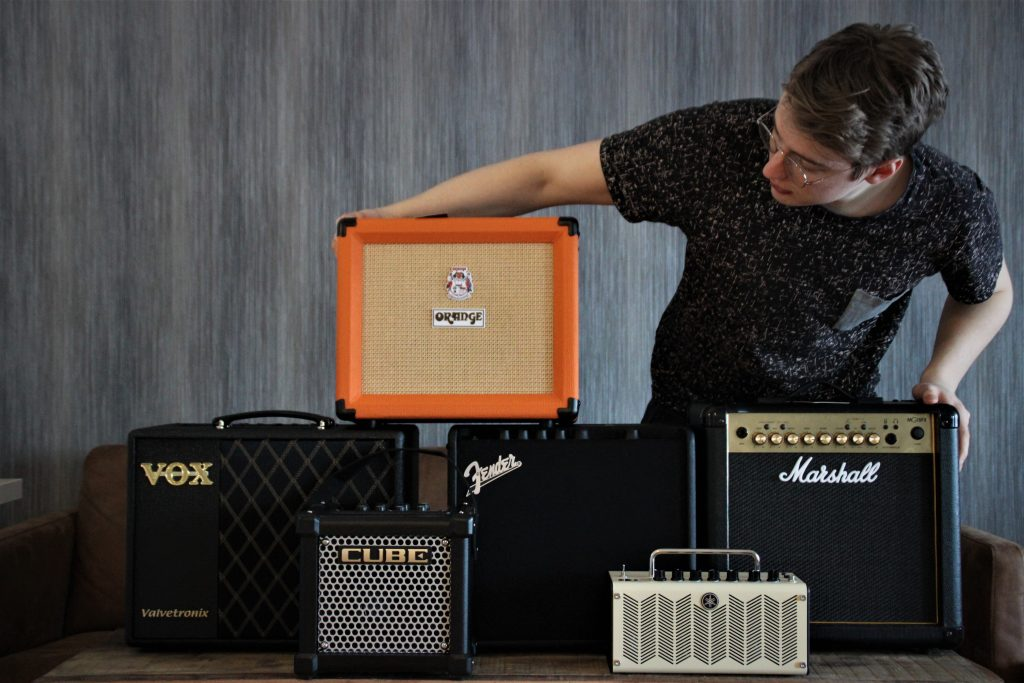 displays Looks, feel, and quality of Best guitar amps under $200 -