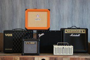 photo displays 6 Best Guitar Amps Under $200
