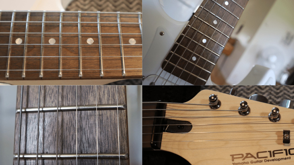photo displays some Yamaha Pacifica 012 finish issues