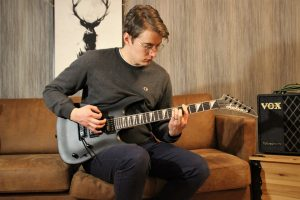 photo displays guitarist next doors favorite metal guitar for beginners